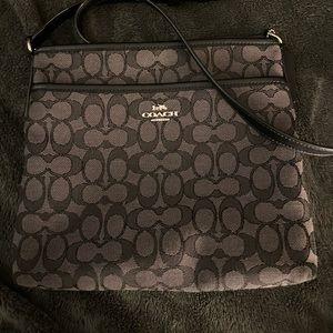 Coach file crossbody purse